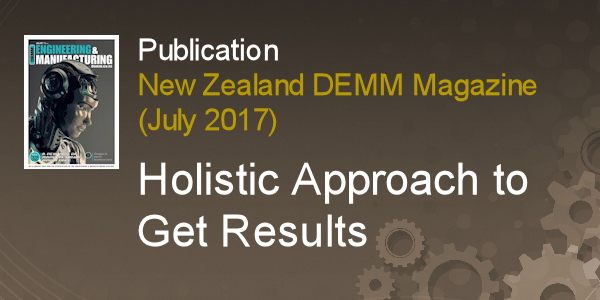 View Holistic Approach to Get Results Publication