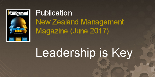 View Leadership is Key Publication